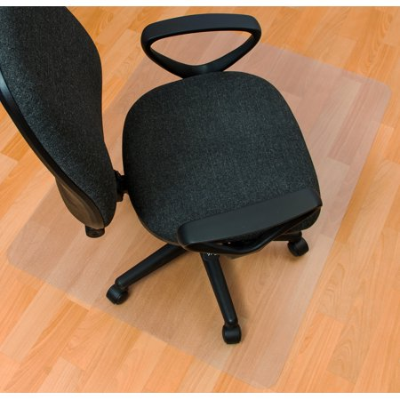Phthalate Free PVC Rectangular Chair Mat for Hard Floor | Size 36
