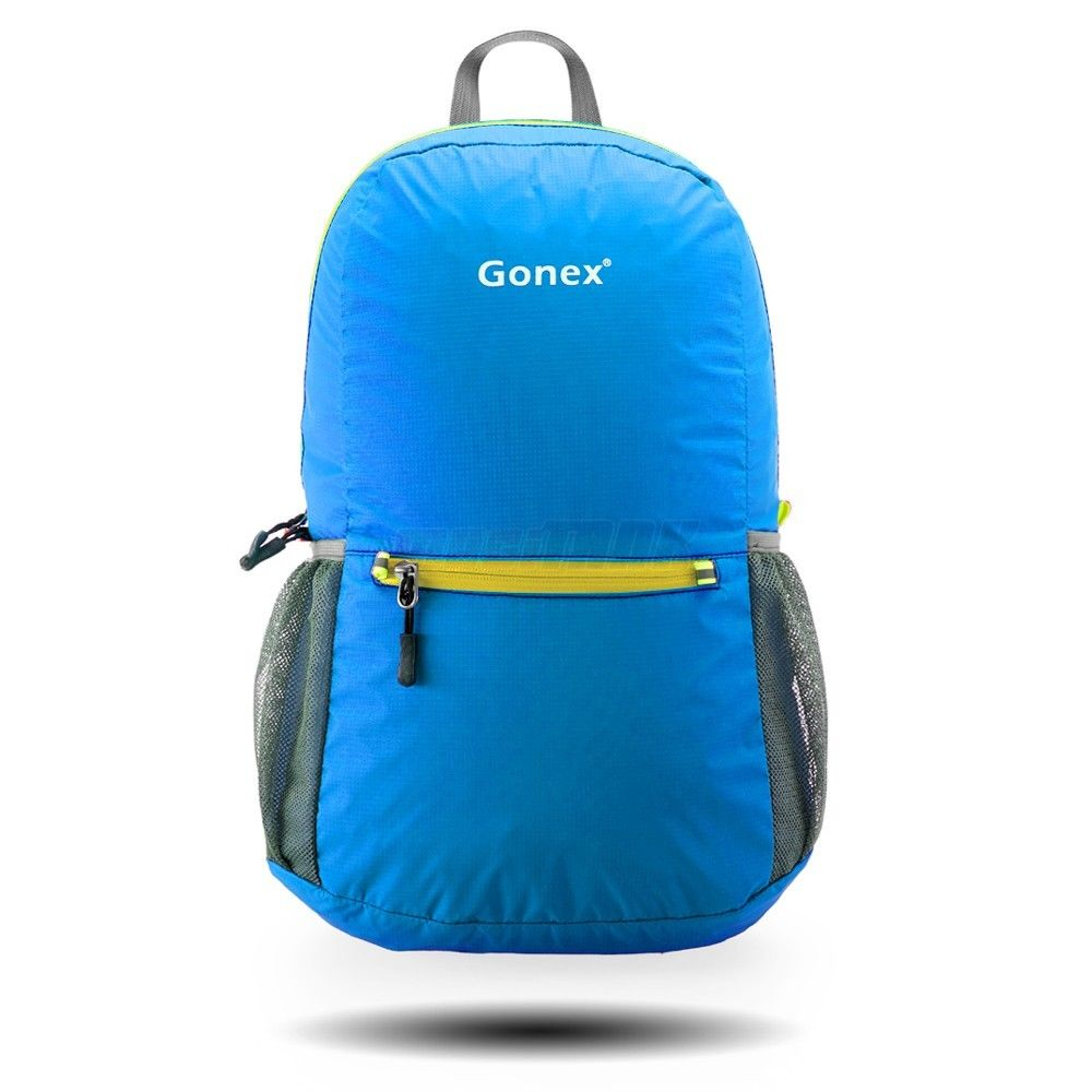 Gonex Ultralight Handy Travel Backpack Water Resistant Packable Backpack For Hiking Daypack Lightweight Foldable Camping by Gonex