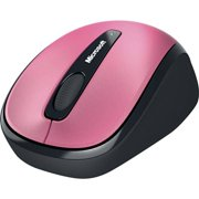 Microsoft GMF-00278 Microsoft Wireless Mobile Mouse 3500 - BlueTrack - Wireless - Radio Frequency - Magenta Pink - USB 2.0 - 1000 dpi - Scroll Wheel - 3 Button(s) - Symmetrical
