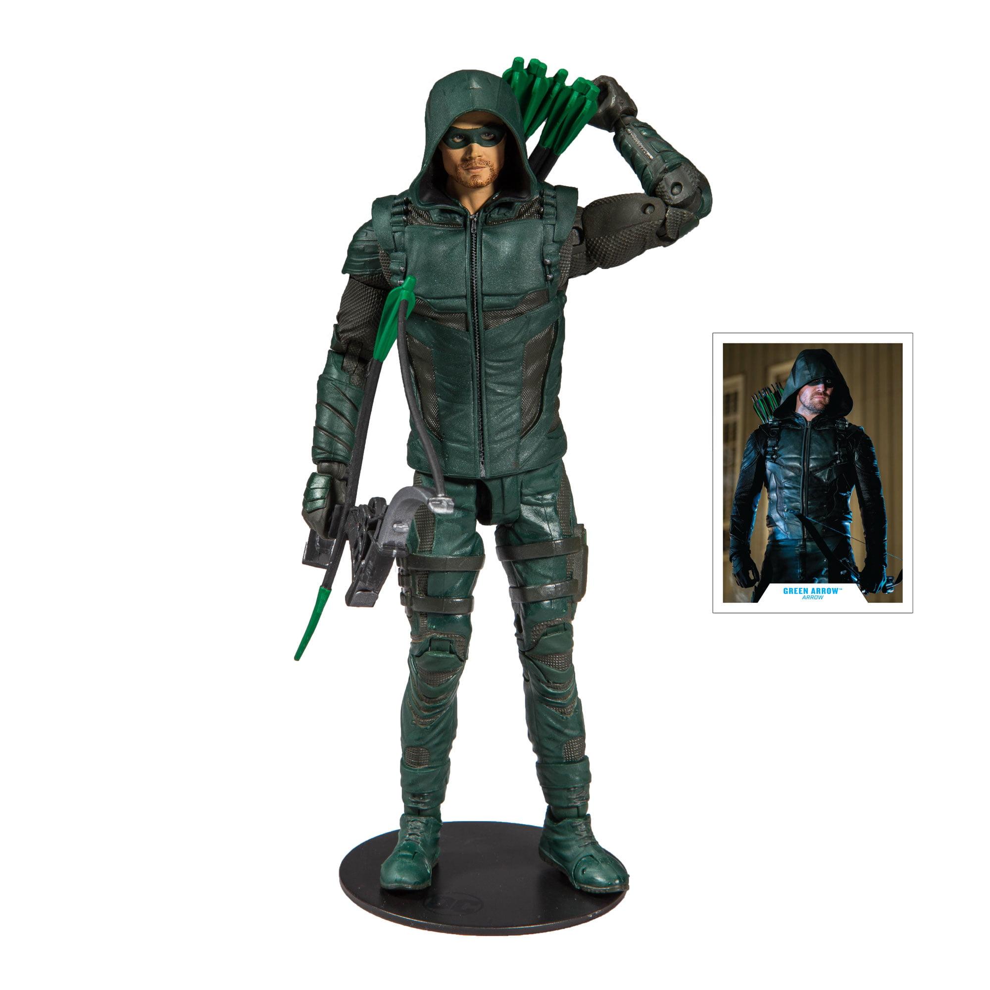 DC Super heroes GREEN ARROW TV show 2 figure US Seller Flat Ship
