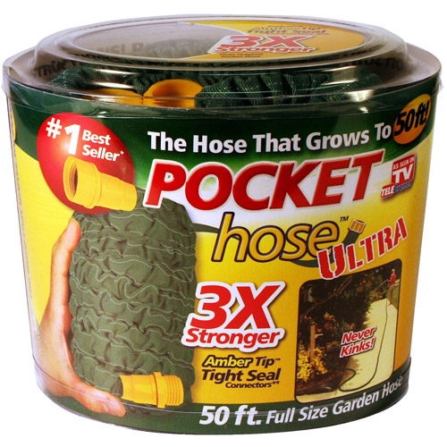 As Seen on TV Pocket Hose Ultra 50 Feet Hose Garden hose Patio