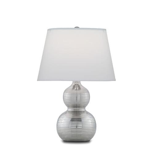 Remington Lamp Company Ribbed Gourd 18'' Table Lamp