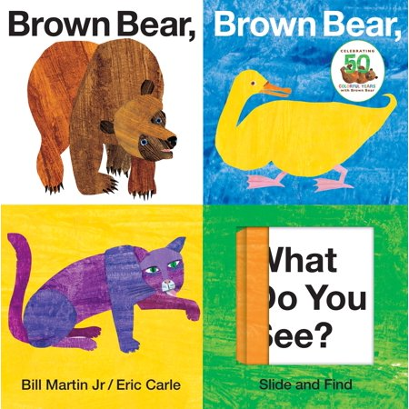 Brown Bear Brown Bear What Do You See (Board Book) - Three Bears Halloween Book