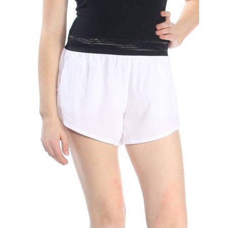 - DKNY Womens White Athletic Short  Size: M