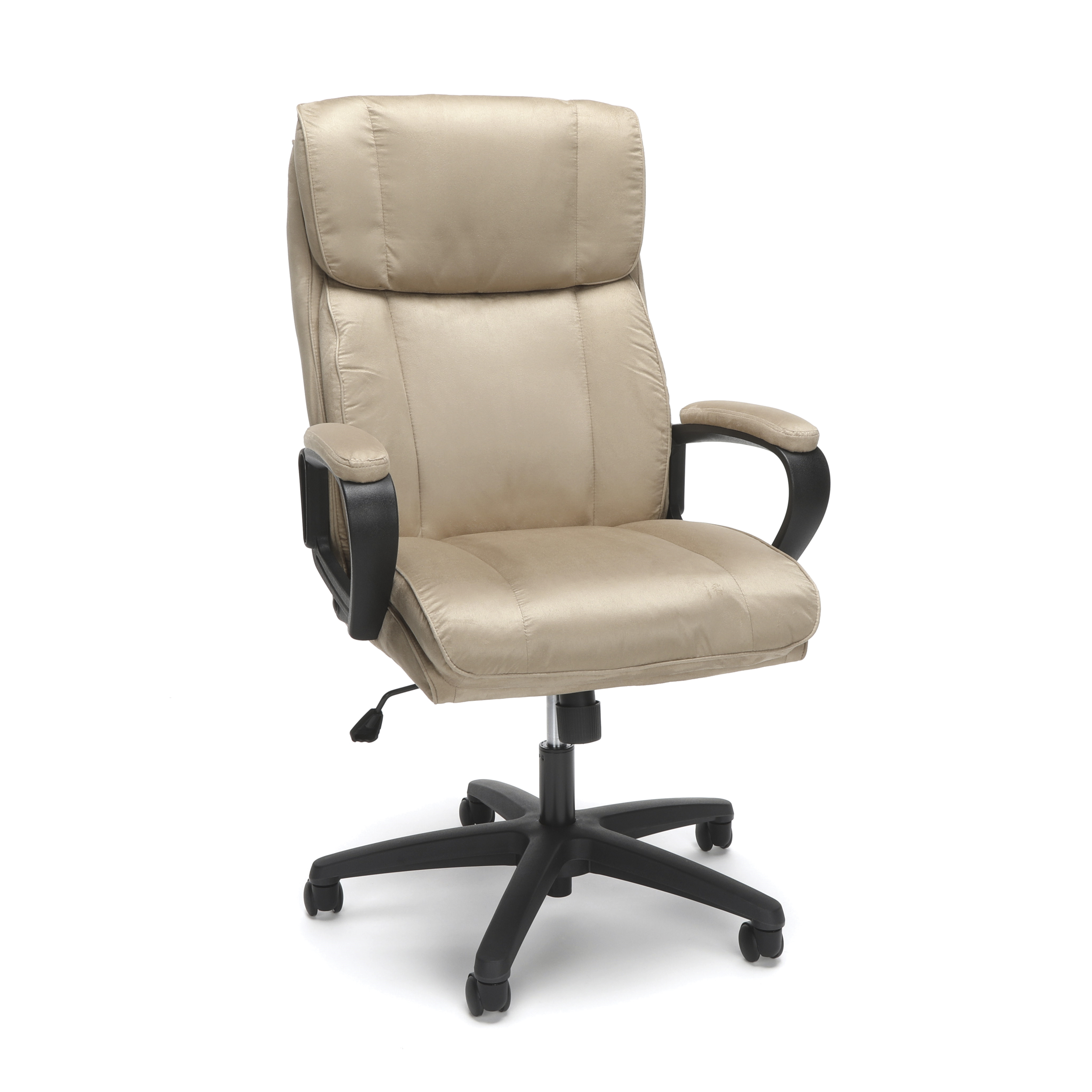 Essentials by OFM ESS-3081 Plush High-Back Microfiber Office Chair Tan - Walmart.com  sc 1 st  Walmart : microfiber office chair high back - Cheerinfomania.Com