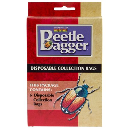 Bonide Products Inc P-Beetle Bagger Disposable Collection Bags 6 Pack