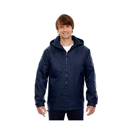 North End Men's Hi-Loft Insulated Thermal Hood Jacket, Style 88137