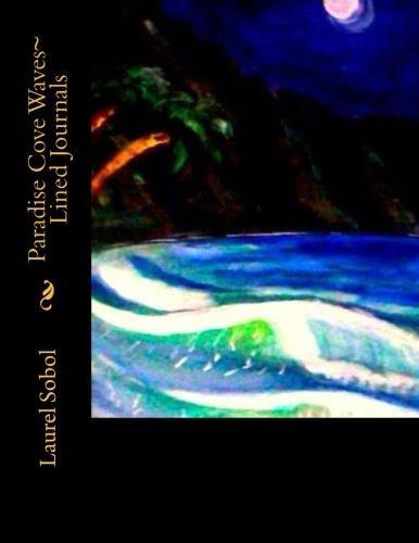 Paradise Cove Waves Lined Journals by
