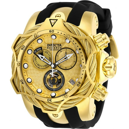Invicta Men's Reserve Quartz 1000m Stainless Steel/Silicone Watch 27708