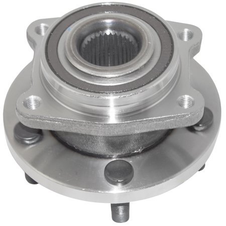 BROCK Wheel Hub Bearing Assembly Front Replacement for 08-14 Dodge Avenger 07-10 Chrysler Sebring & 11-14 Chrysler 200 5154211AA HA590219