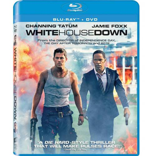 White House Down (Blu-ray + DVD) (With INSTAWATCH) (With INSTAWATCH) (Widescreen)