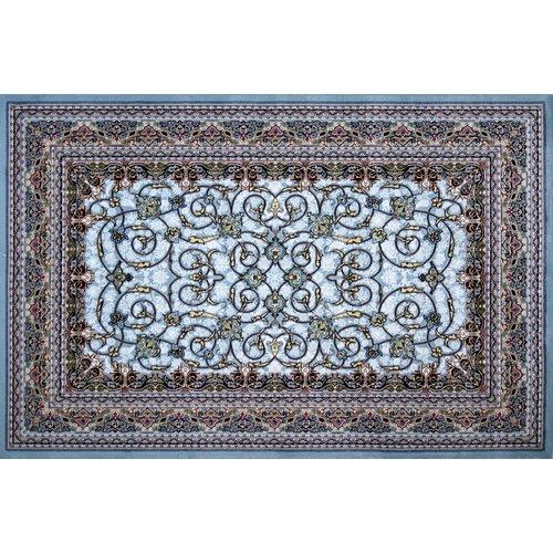 Astoria Grand Mudge Hand Look Persian Wool Blue/Green/Brown Area Rug