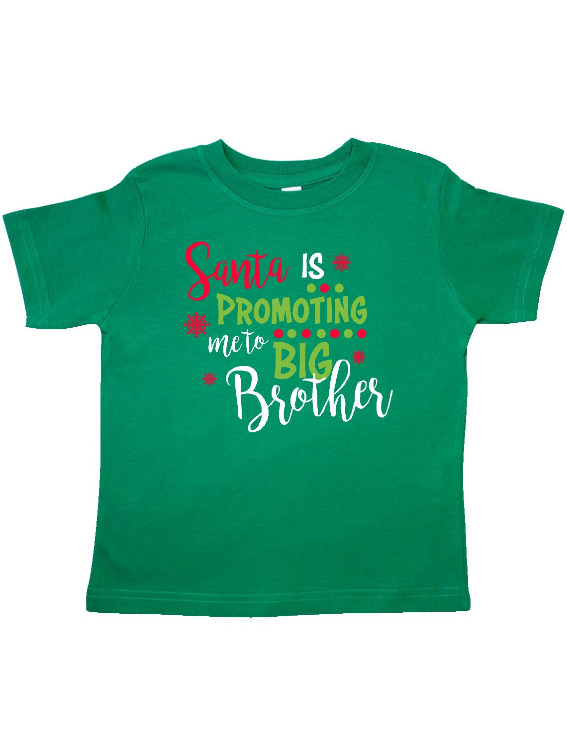 Santa is promoting me to Big Brother Toddler T-Shirt