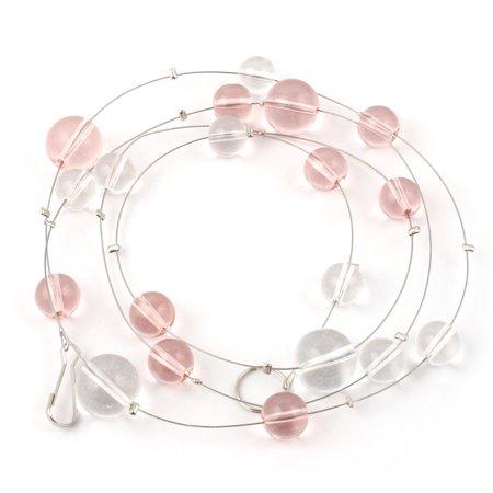 Household Plastic Beads Pendant Ornament Window Door Divider String Curtain - Plastic Door Curtain