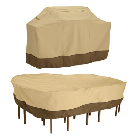 Classic Accessories Veranda Medium Grill Cover And Large