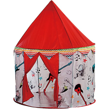VCNY Home Rock Star Music-Inspired Kids Pop-Up Play Tent - Kids Pop Stars