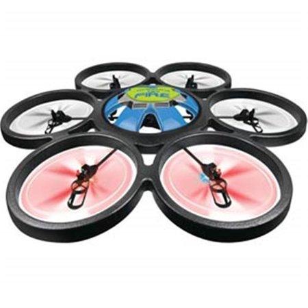 Microgear EC10424-Black 2.4 GHz. Radio Controlled RC QX-839 4 Chan 6 Axis Gyro Quadcopter Drones