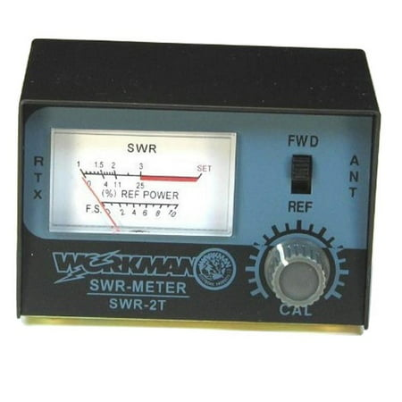 WORKMAN SWR-2T CB RADIO ANTENNA SWR METER