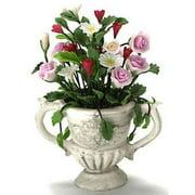 Dollhouse Flower Arrangement In Urn