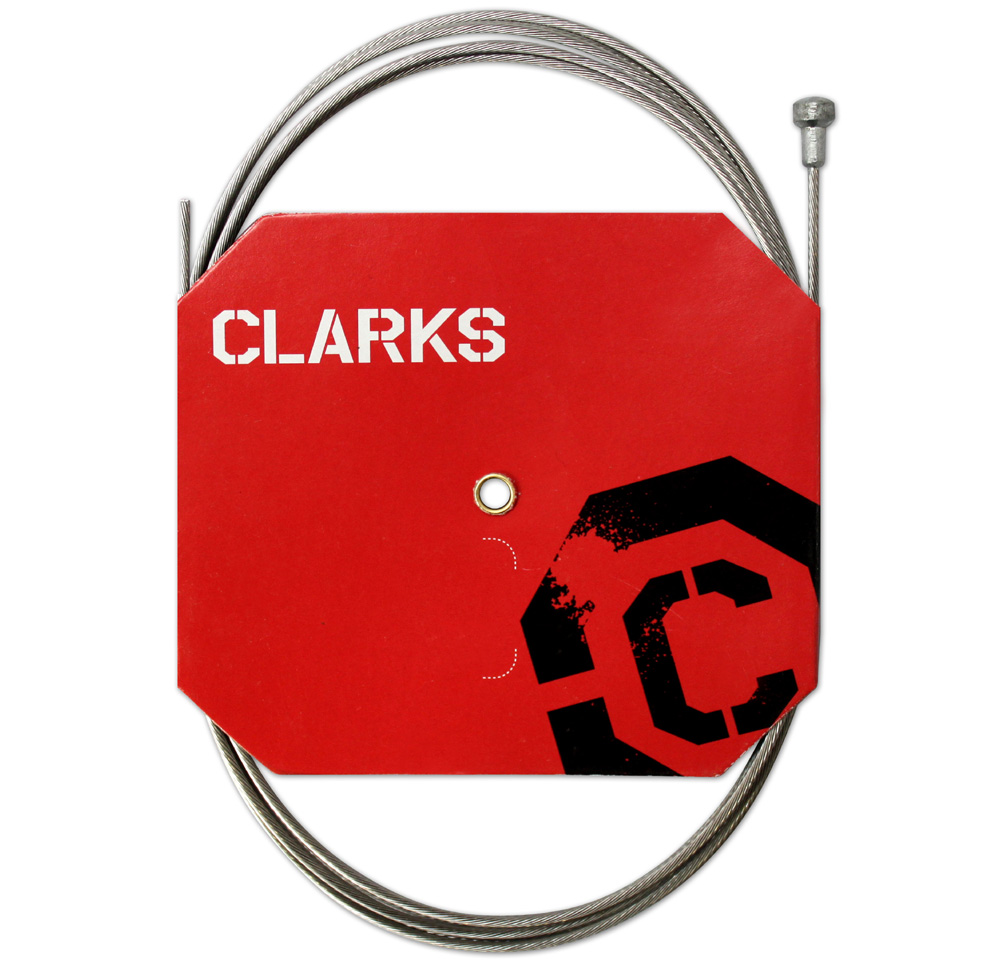 CLARKS BRAKE CABLE SS ROAD 1.5x2000mm EA W6052