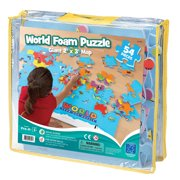 Educational Insights® World Foam® Map Puzzle