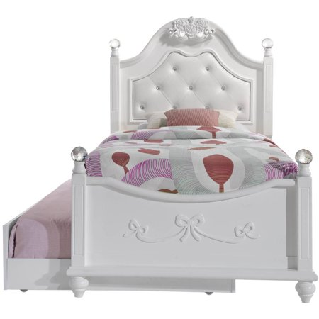 Picket Fence Twin (Picket House Furnishings Annie Twin Platform Bed w/ Storage Trundle )