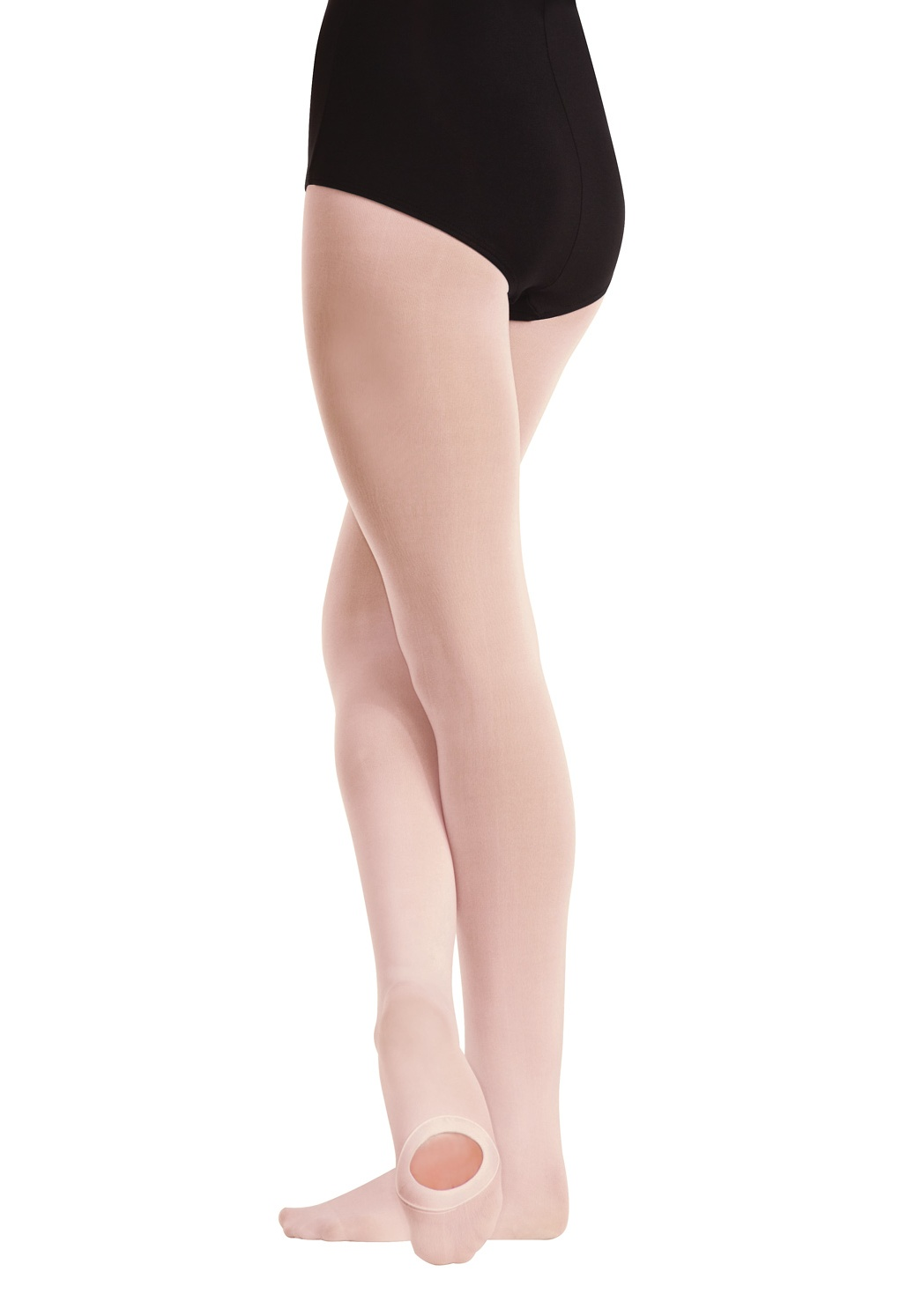 4-7 Body Wrappers C81 Suntan Girl/'s Size Small//Medium Convertible Tights
