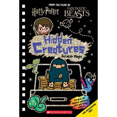 Magic Color Scratch Heart (Hidden Creatures: Scratch Magic (J.K. Rowling's Wizarding World))