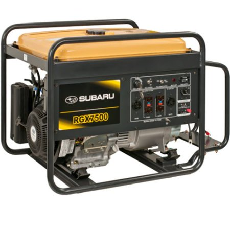 Subaru Rgx7500e 14 0 Hp Gas Powered Industrial Generator  7500W