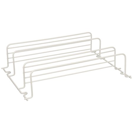 40504, Two Shelf Spice Rack, WhiteMounts on a wall or on the inside of a cabinet door By Grayline ()