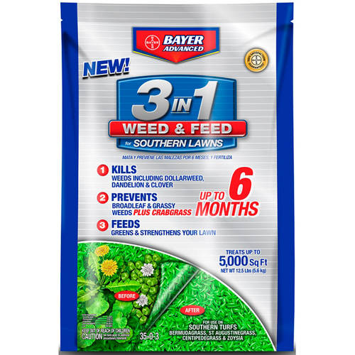 Bayer Advanced 3-in-1 Weed & Feed for Southern Lawns