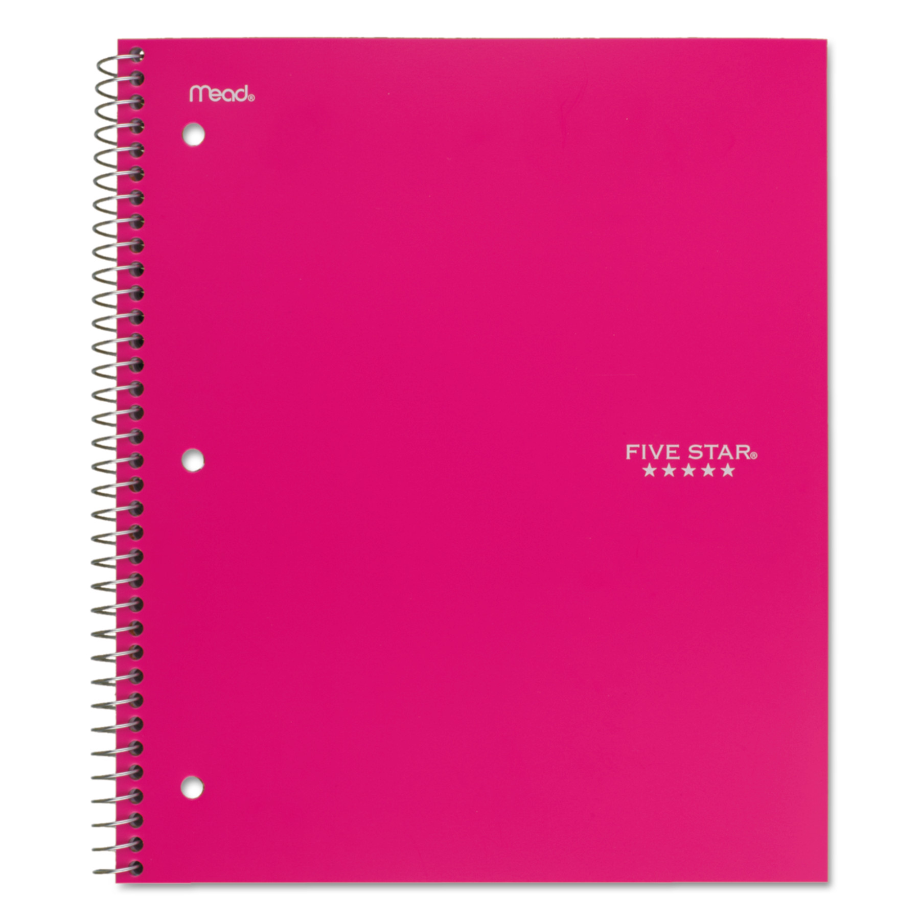 Five Star Trend Wirebound Notebooks, College Rule, 11 x 8 1/2, 1 Subject (06877)