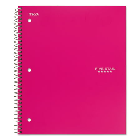 Subject Divider Books (Five Star Trend Wirebound Notebooks, College Rule, 11 x 8 1/2, 1 Subject (06877) )