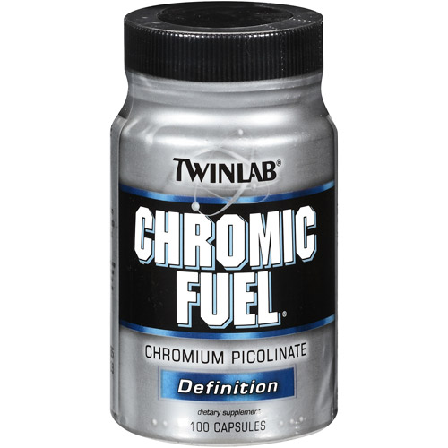 Twinlab Chromic Fuel Capsules, 100ct