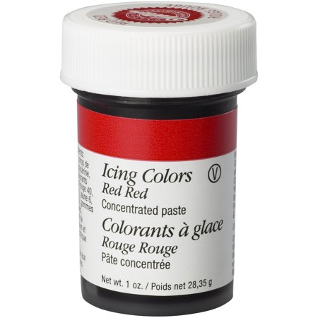 Eggs Icing Decorations (Wilton Icing Color, Red, 1oz)