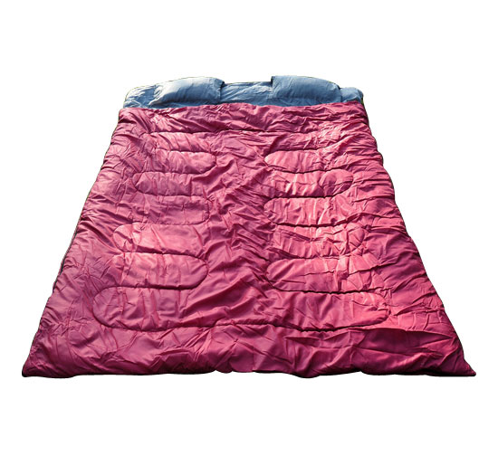 Aosom LLC Outsunny Two-Person Double Wide Sleeping Bag by Aosom LLC
