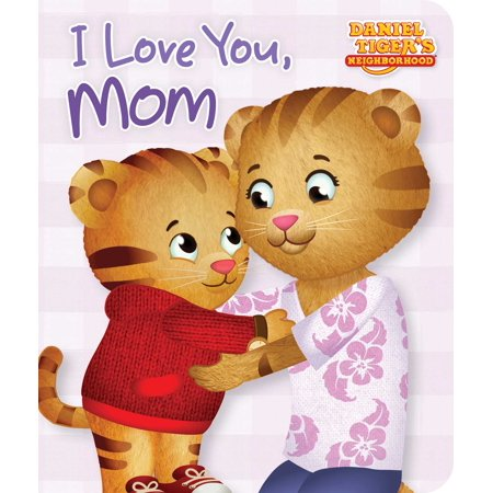 I Love You Mom (Board Book) - I Love You To Pieces Craft