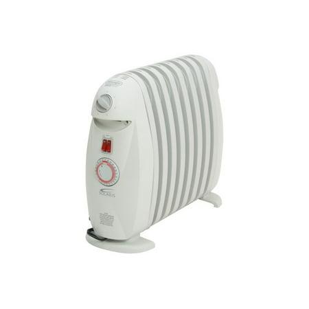 DeLonghi TRN0812T 1,200 Watt Portable Oil-Filled Radiator Heater with Timer