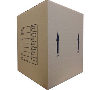 The Boxery 18 x 18 x 16 Inches Genuine Medium Moving Boxes, Pack of (16 X 13 X 3 Inches Box)