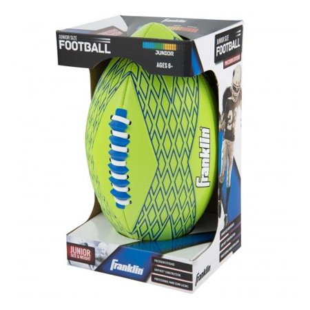 Franklin Sports Junior Gridiron Soft Foam Football With Spacelace Colors Vary