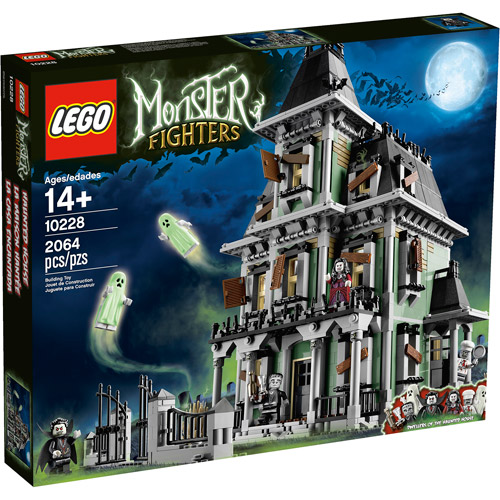 Lego Monster Fighters Haunted House Play Set