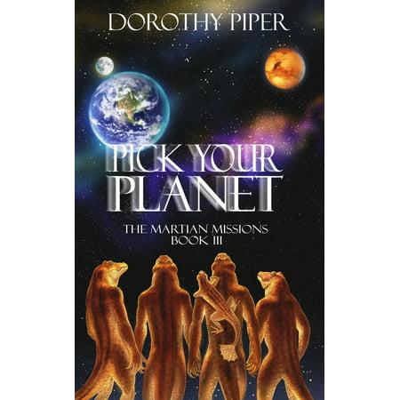Pick Your Planet - eBook - E Ponies Picks