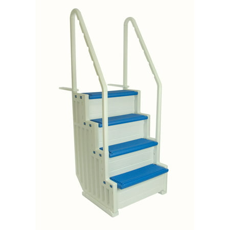 Confer Step 1 Above Ground In Pool Swimming Pool Steps Entry System (Various Colors)