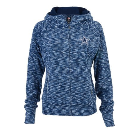 Dallas Cowboys Women s Navy Bluewag Space Dye Fleece Full-Zip Jacket -  Walmart.com c0da7855d0