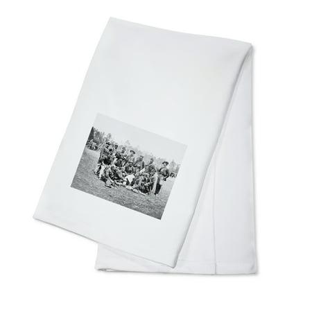 Fair Oaks, VA - Officers of the Horse Artillery Civil War Photograph (100% Cotton Kitchen Towel) - Halloween Fair Oaks