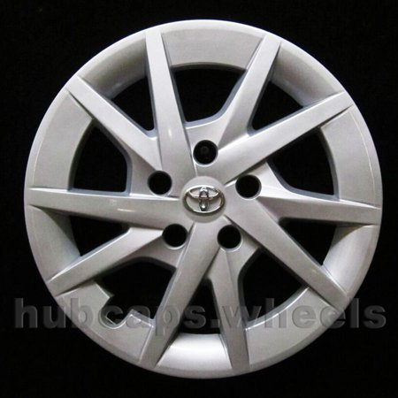 OEM Genuine Wheel Cover Fits 2012-2018 Toyota Prius - Professionally Refinished Like New - 16in Replacement Single Hubcap ()
