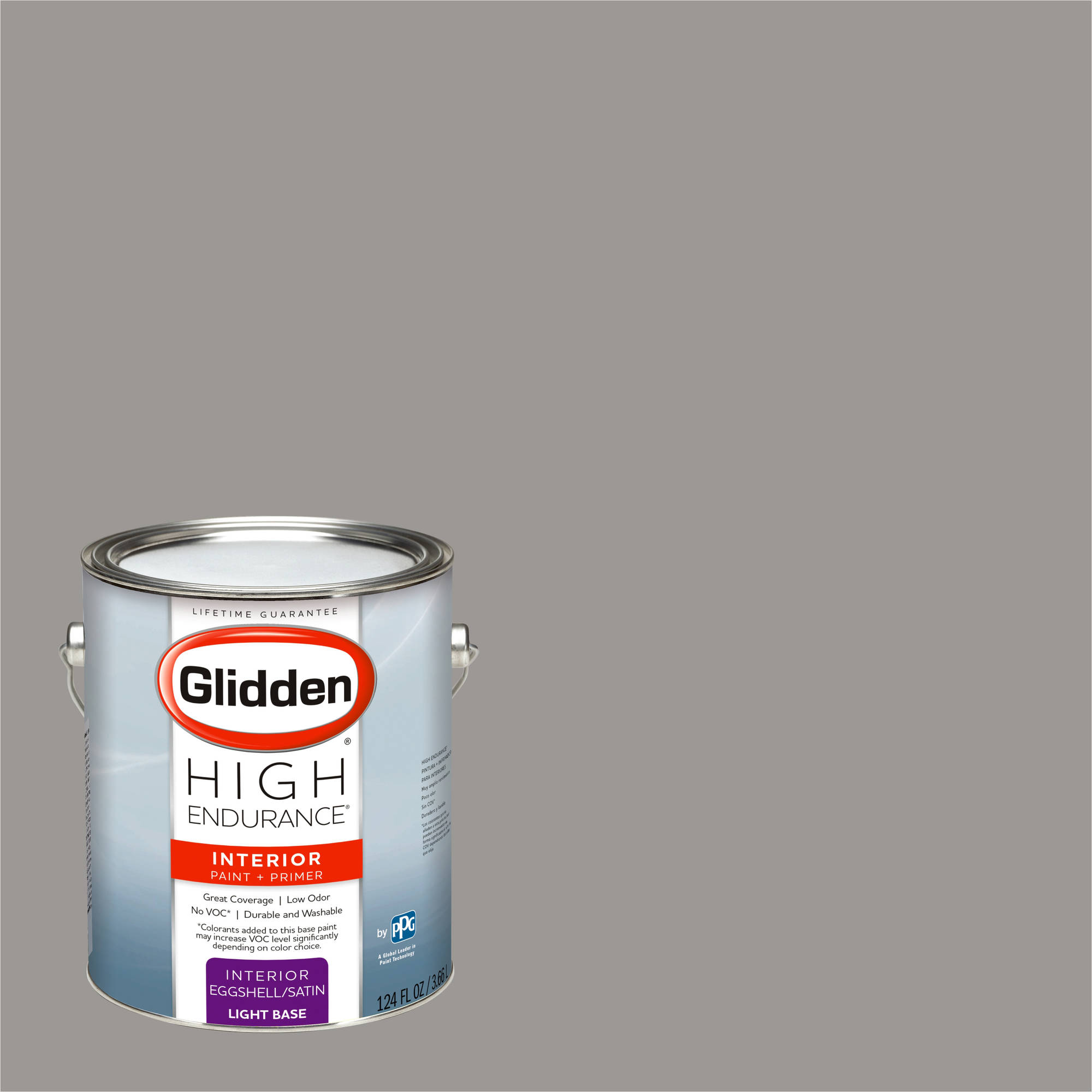 Glidden High Endurance, Interior Paint and Primer, Stone Grey, # 30YY 31/024