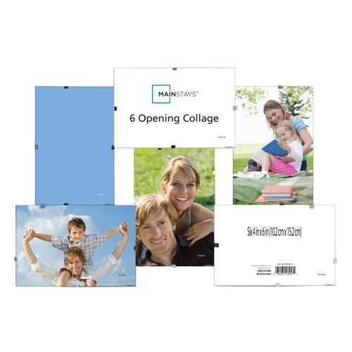 Mainstays 6-Opening Acrylic Collage Frame