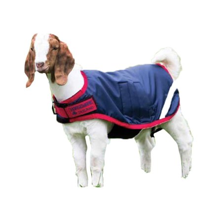 Horseware Ireland - Waterproof Goat Coat - Navy & Red - XX-Large Horseware Corrib Jacket