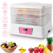 Best Meat Dehydrators - Beenate Food Dehydrator Machine,5 Removable Layers Fast food Review